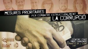 Debat Observatori Ciutadà Contra la Corrupció